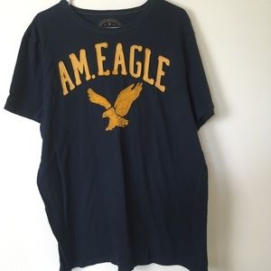 American Eagle navy with gold letters size XL